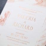 Serenity Marble Wedding Invite Card Design
