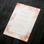 Serenity Marble Wedding Card