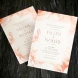 Serenity Marble Wedding Invitation Design