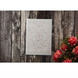Silvery Charisma Wedding Card