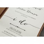 Simply Rustic Wedding Invite Design