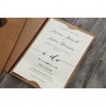 Simply Rustic Invitation Card Design