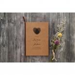 Simply Rustic Wedding Invitation Card
