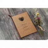Simply Rustic Wedding Card