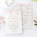 Star Dust Stunning invitation card