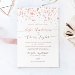 Star Dust Wedding Invite