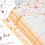 Star Dust Wedding Invitation Card