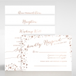 Star Dust Wedding Card