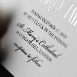 Star Shower Invite Card Design