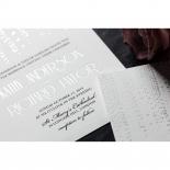Star Shower Wedding Invite Design