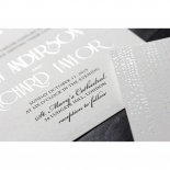 Star Shower Wedding Invitation Design