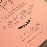 Sweet Romance Invite Card Design