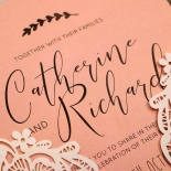 Sweet Romance Wedding Invite Design