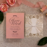 Sweet Romance Wedding Invitation Card Design