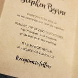 Sweetly Rustic Invite Card