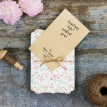 Sweetly Rustic Invitation Card