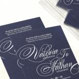 Timeless Romance Wedding Card Design