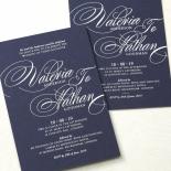 Timeless Romance Wedding Invite Card Design