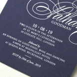 Timeless Romance Wedding Invitation Design