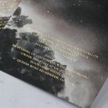Under the Stars Wedding Invite Card