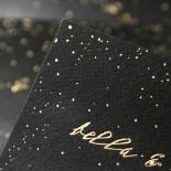 Under the Stars Invite Card Design