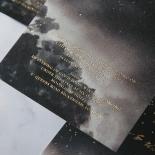 Under the Stars Invitation Card Design