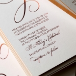 United as One Stunning invitation card