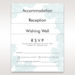 Stationery cards printed with floral beach themed designs