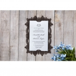 Victorian Charm Wedding Invite Design
