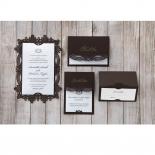 Victorian Charm Wedding Invitation Card Design