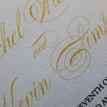 Victorian Extravagance Wedding Invite Card