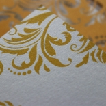 Victorian Extravagance Wedding Card