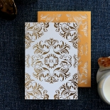 Victorian Extravagance with Foil Invitation Card Design