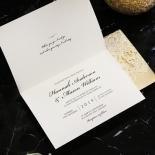 Victorian Lace Wedding Invite Card