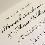 Victorian Lace Invite Card Design