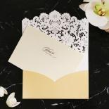 Victorian Lace Wedding Invite