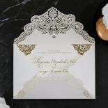 Vintage Prestige with Foil Wedding Invite
