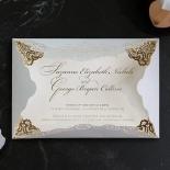 Vintage Prestige with Foil Invite Card
