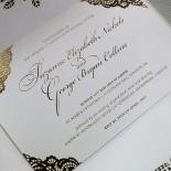 Vintage Prestige with Foil Invite
