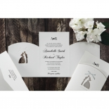 Wedded Bliss Wedding Invite