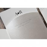 Wedded Bliss Wedding Invitation Card