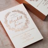 Whimsical Garland Invite Card Design