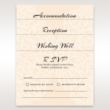 Accessory cards featuring traditional rose garden design