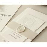 Blind Embossed Regal Crest - Wedding Invitations - WP-IC55-BLBF-01 - 178925