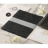 Lux Royal Lace with Foil - Wedding Invitations - PWI116142-F-GK - 178769