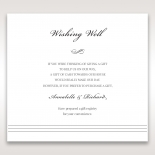 Marital Harmony wedding wishing well enclosure card