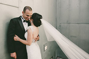 Real Wedding Photo Pauline & Ben